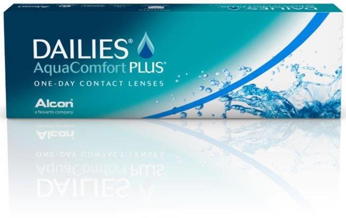 2 DAILIES Aqua Comfort Plus