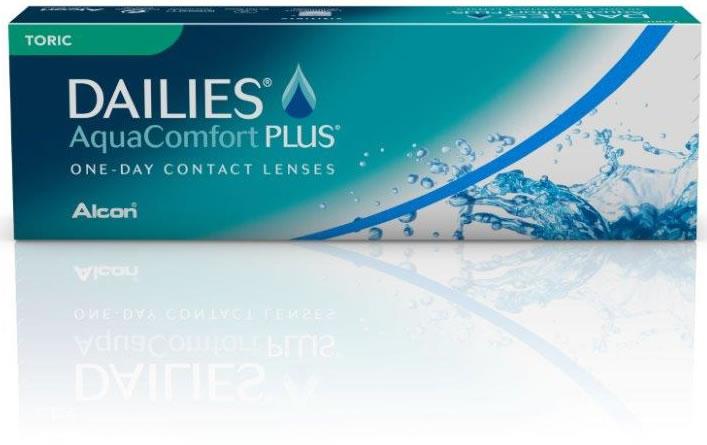 3 DAILIES Aqua Comfort Plus Toric